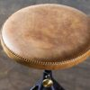 AKRON COUNTER STOOL WITH LEATHER SEAT 3