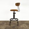 BUCK COUNTER STOOL WITH BACKREST 8