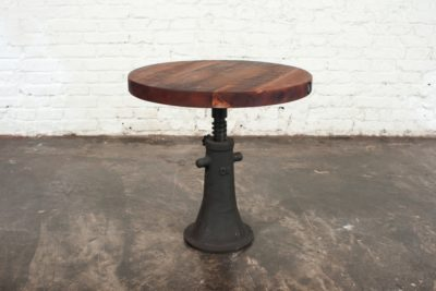 PUMP SCREW SIDE TABLE