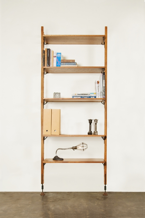 THEO WALL WITH MEDIUM SHELVES 1