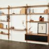 THEO WALL WITH LARGE SHELVES 9