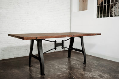 TUNGSTEN DINING TABLE