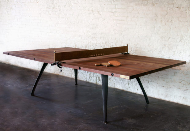 PING PONG TABLE- RECLAIMED HARDWOOD 1