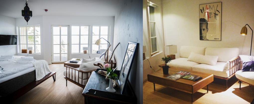 Peter Stormare designar personlig lyxsvit och inreder med möbler från Dunke Design 1