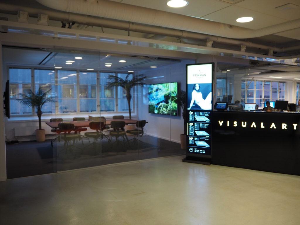 Visual Art aktiverar kontoret med möbler från Dunke 1
