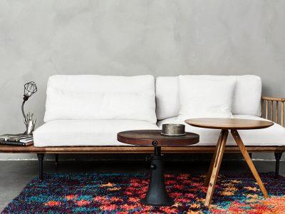 SCREW PUMP SIDE TABLE