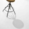 AKRON COUNTER STOOL WITH LEATHER SEAT 10