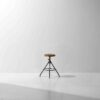 AKRON COUNTER STOOL WITH LEATHER SEAT 9
