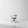 Akron desk chair storm leather