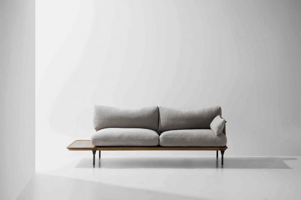 Distrikt Sofa Hard Fumed Oak