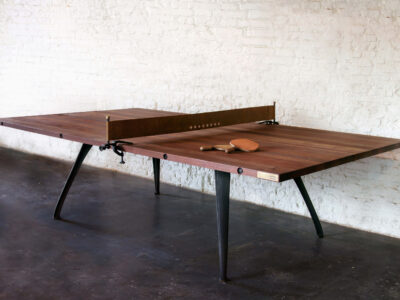 PING PONG TABLE RECLAIMED HARDWOOD