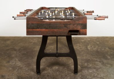 FOOSBALL TABLE RECLAIMED WOOD