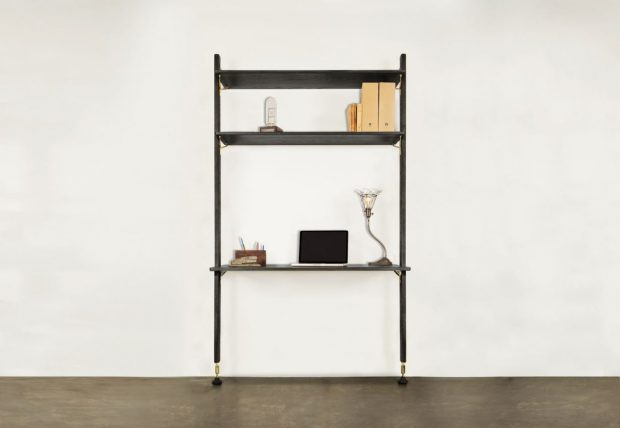THEO WALL UNIT WITH DESK 1