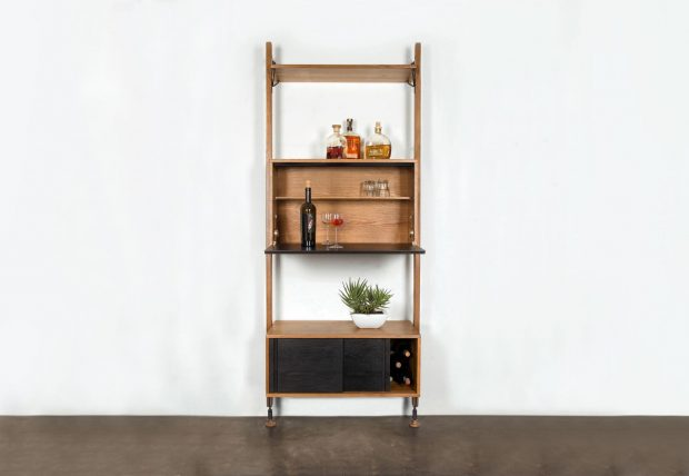 THEO WALL UNIT WITH BAR COUNTER 1