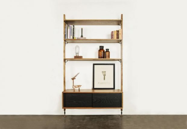 THEO WALL UNIT WITH CABINET 1