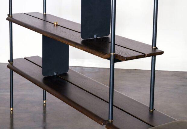 STACKING BENCH- BOOKENDS 1