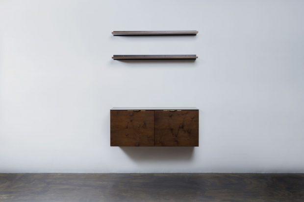 Drift shelf with cabinet