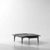 SALK Coffe table Square charred black oak
