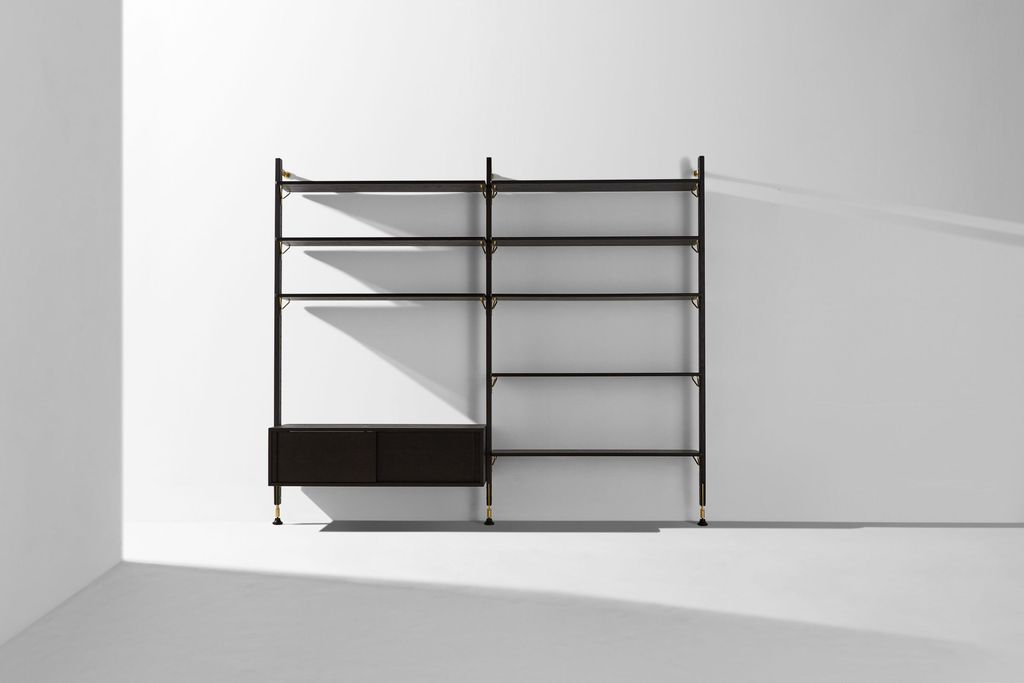Theo Cabinet Charred Black