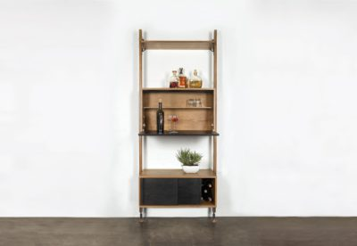 THEO WALL UNIT WITH BAR COUNTER