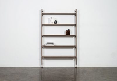 THEO WALL WITH LARGE SHELVES