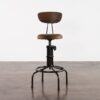 BUCK COUNTER STOOL WITH BACKREST 9