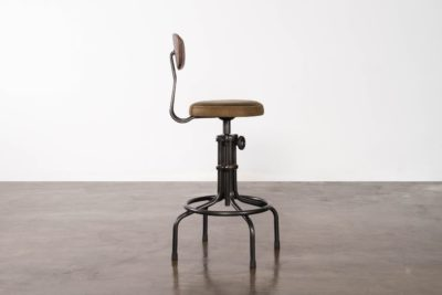 BUCK COUNTER STOOL WITH BACKREST