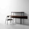 STACKING BENCH DROP LEAF TABLE 6