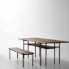 STACKING BENCH DROP LEAF TABLE 7