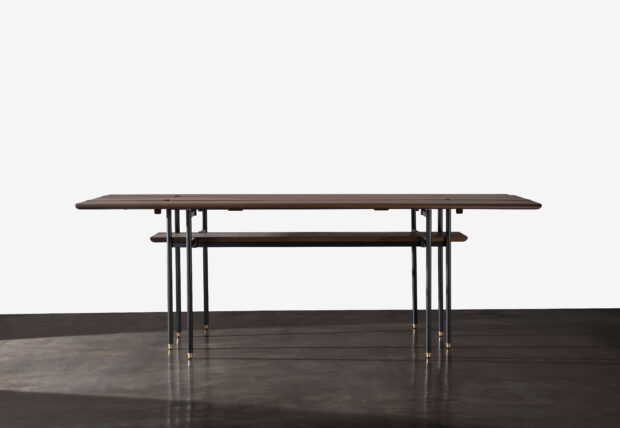 STACKING BENCH DROP LEAF TABLE 1