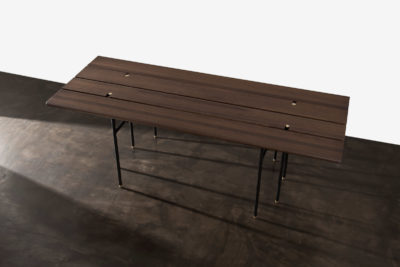 STACKING BENCH DROP LEAF TABLE