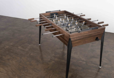 FOOSBALL TABLE- SMOKED OAK