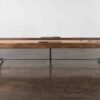 SHUFFLEBOARD TABLE - SMOKED OAK 2
