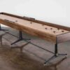 SHUFFLEBOARD TABLE - SMOKED OAK 3