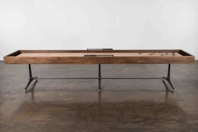 SHUFFLEBOARD TABLE – SMOKED OAK