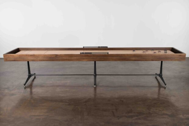 SHUFFLEBOARD TABLE - SMOKED OAK 1