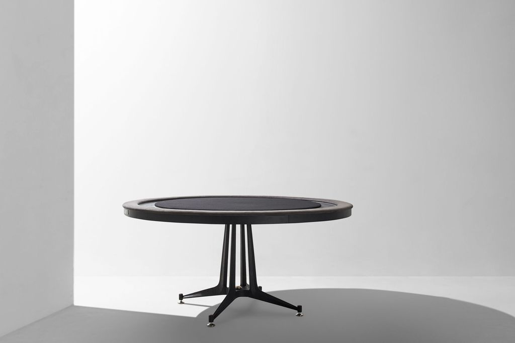 Dunke Design Poker Table Ebonized