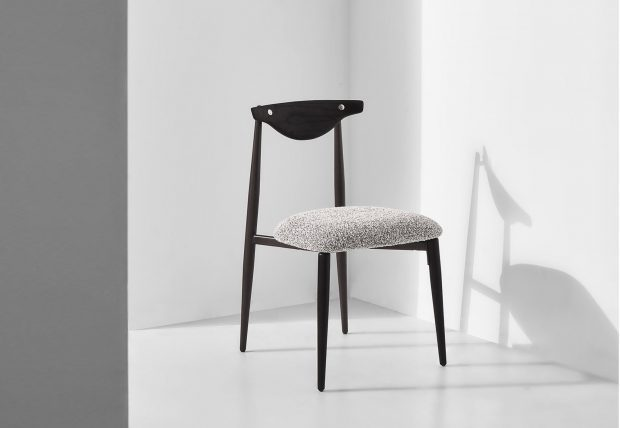 Vicuna Dining Chair Boucle Grey