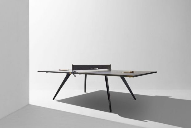 Ping Pong Table Ebonized