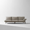 Stilt 3 seater sofa smoked oak