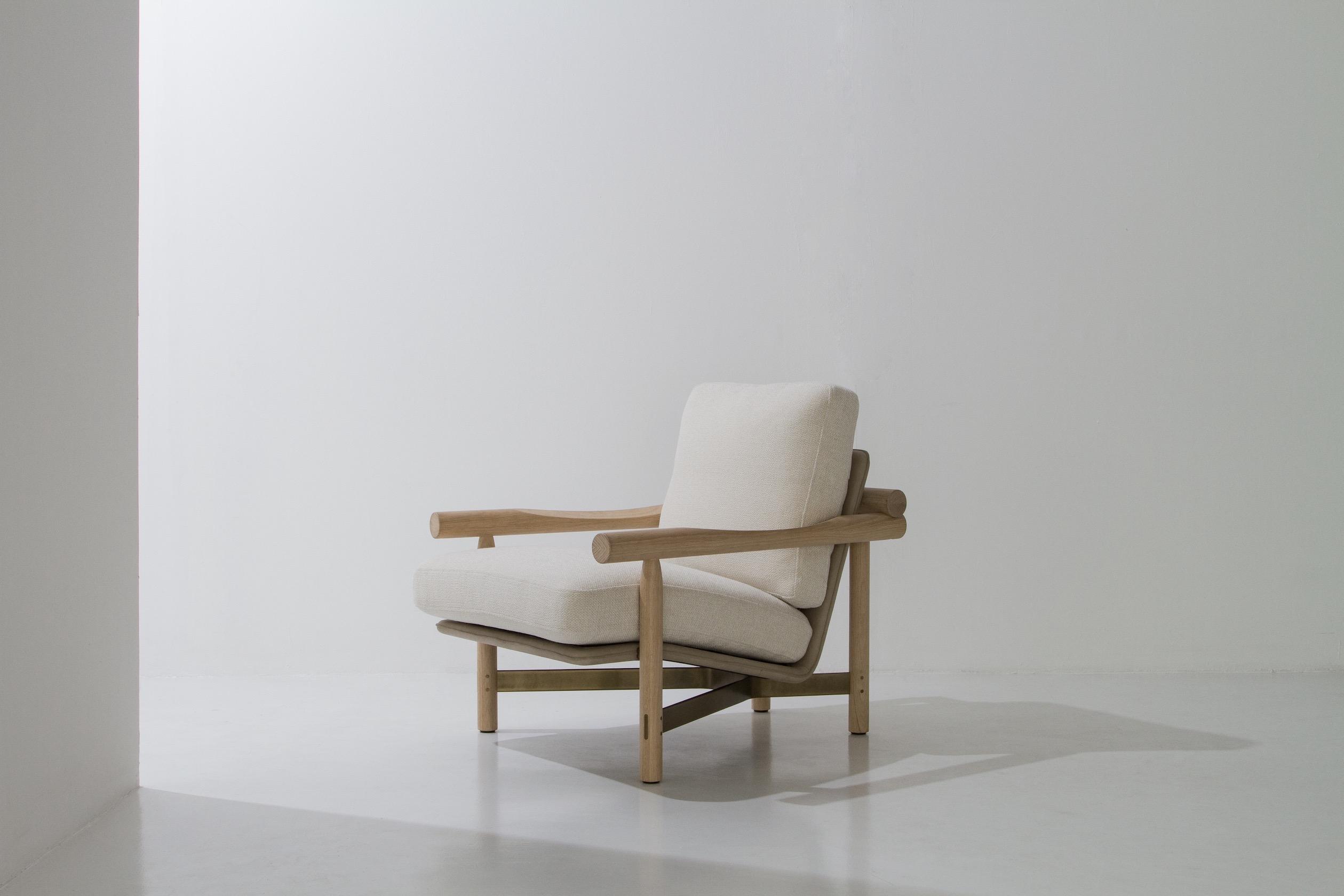 Dunke Design Stilt Armchair Raw 2