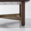 Stilt square table smoked oak
