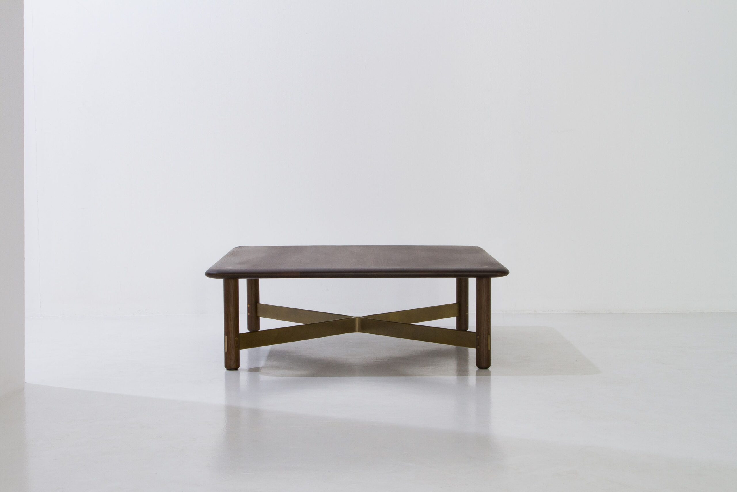 Dunke Design Stilt Square Table – Smoked Oak