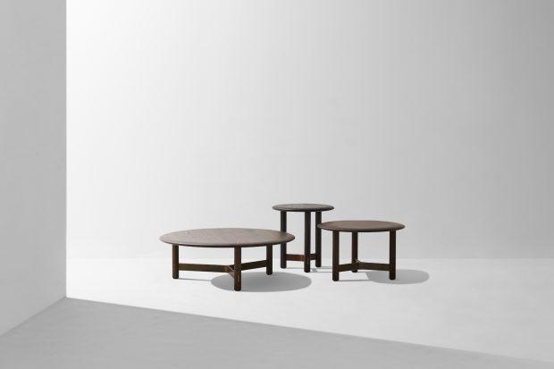 Stilt round coffee table