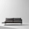 Distrikt Sofa Ebonized