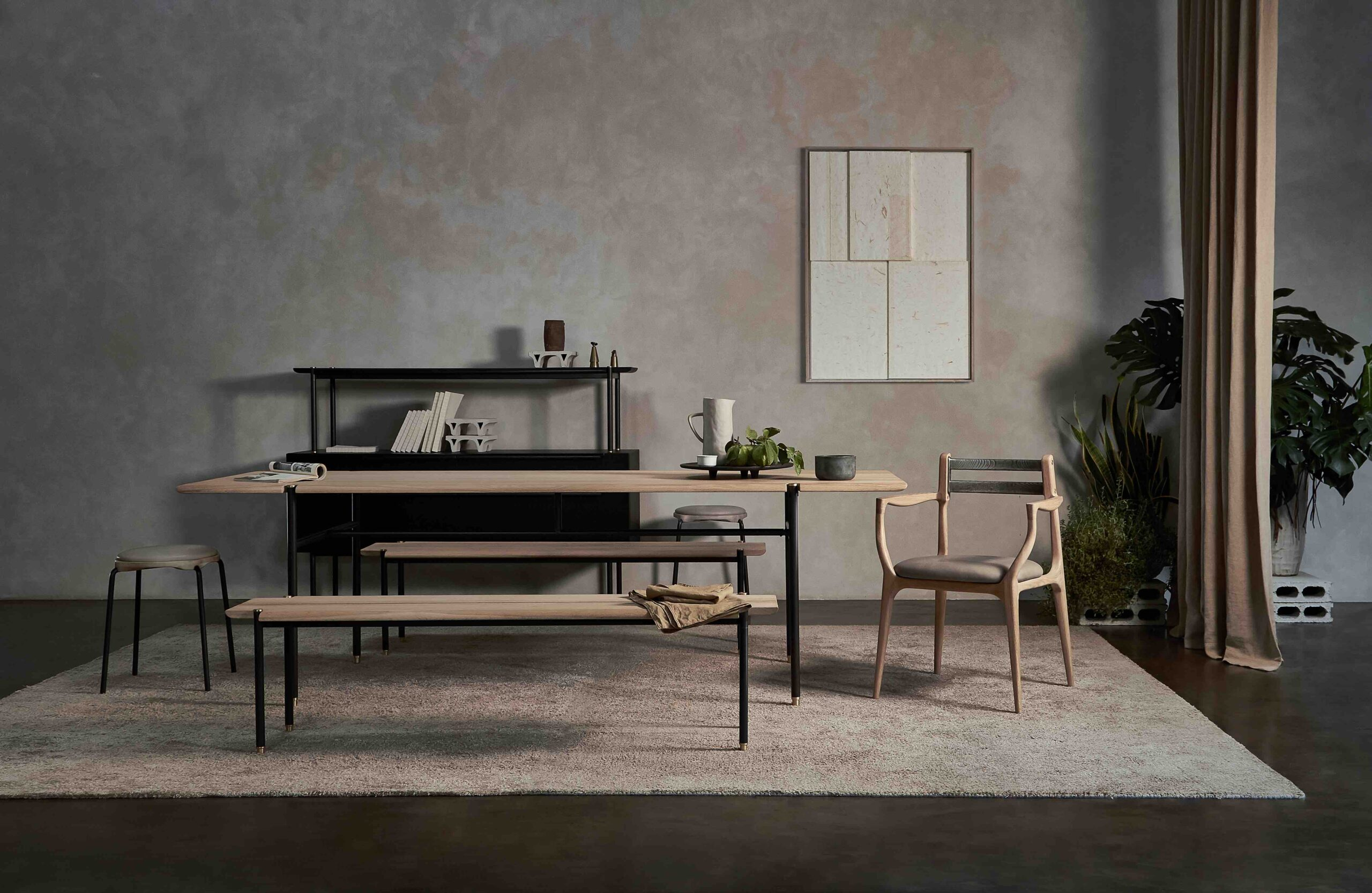 Dunke Design Stacking Dining Table Raw