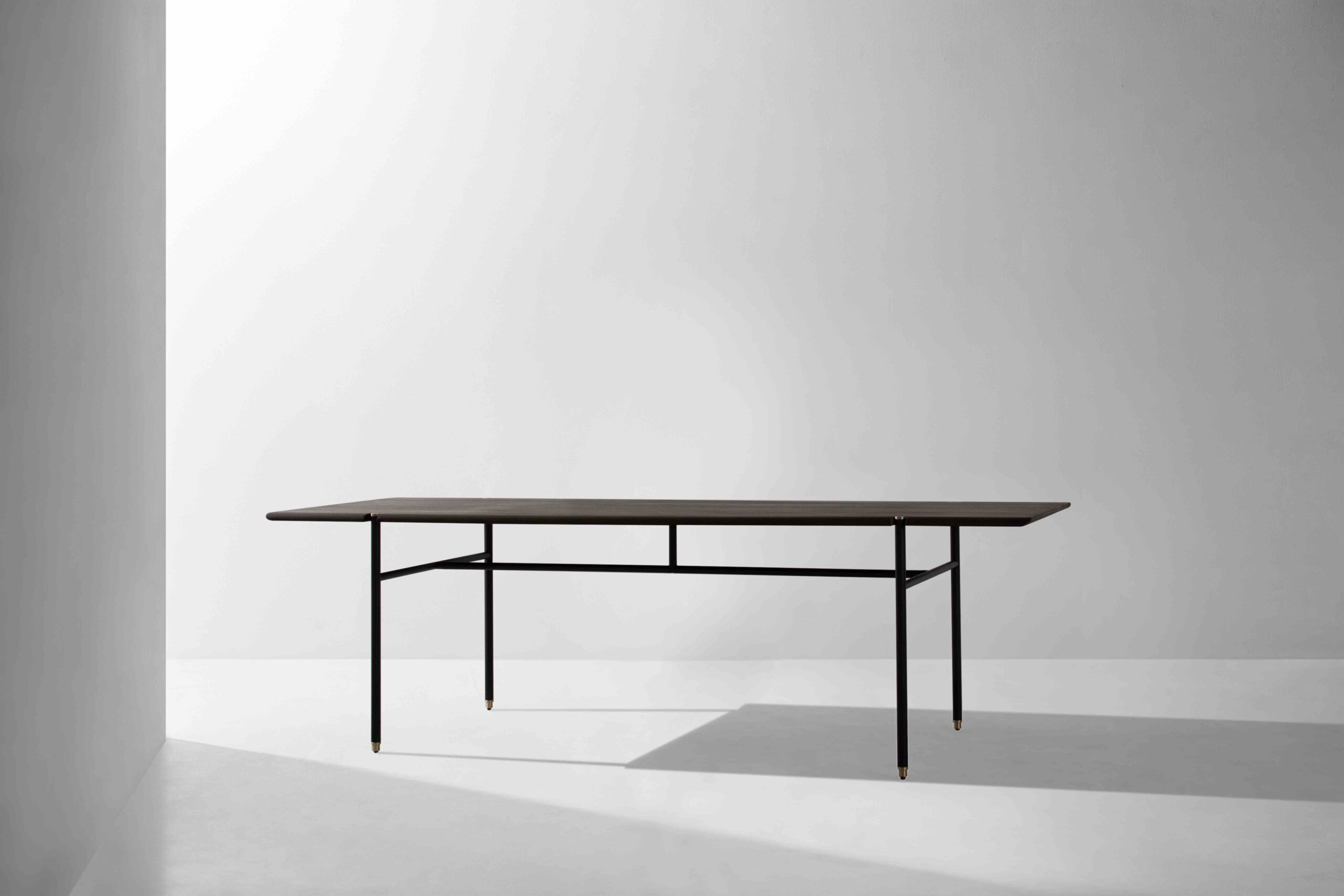 Dunke Design Stacking Dining Table Smoked Oak