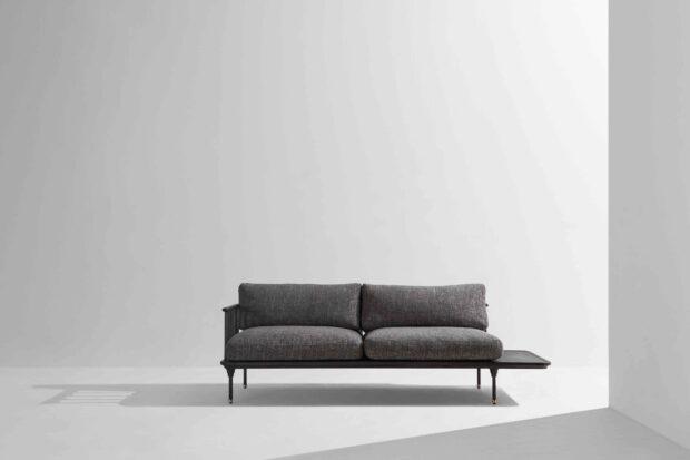 Distrikt sofa Ebonized