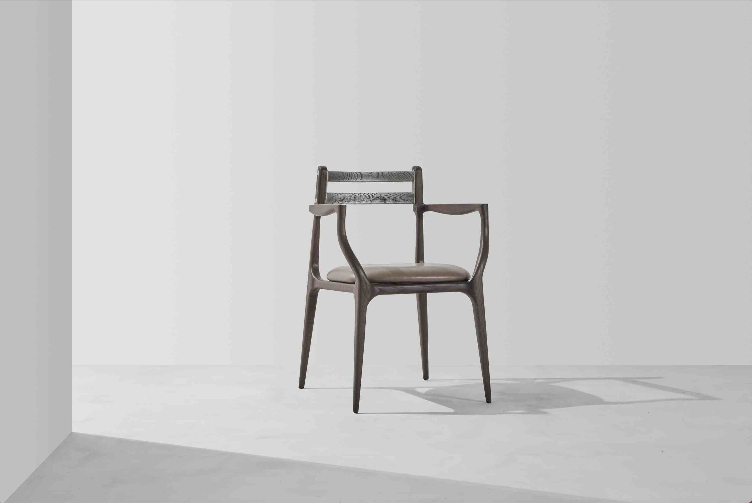 Dunke Design Assembly Dining Chair with Armrests 2